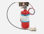 自動消火装置 下引きダクト用