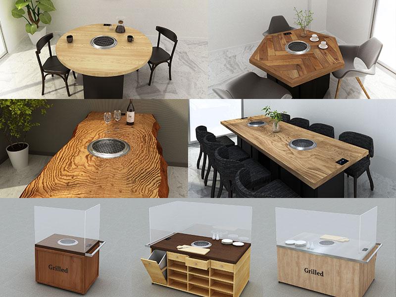 あなたの理想のダイニングテーブルお作りします。