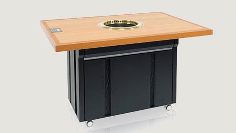 無煙グリル内蔵型ダイニングテーブル|Nシリーズ